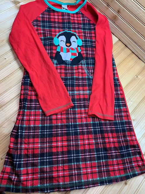 Size 14/16 Plaid Fleece Nightgown