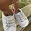 Size 3-6m (1) Infant OLD NAVY White and Blue Shoes