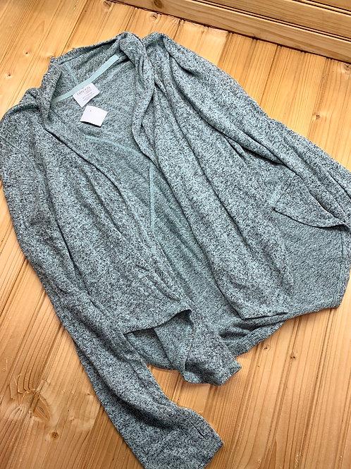 Size 10/12 DANSKIN Greyish Green Cardigan