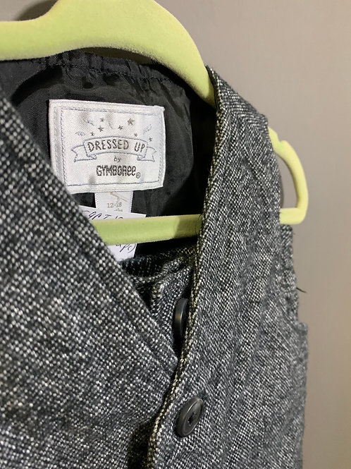 Size 12-18m GYMBOREE Grey Tweed Vest and Pant Set