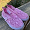 Size 6 Toddler SQUIGGLES Pink Lace Shoes
