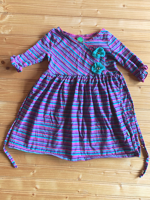 Size 5 Purple and Teal Dress