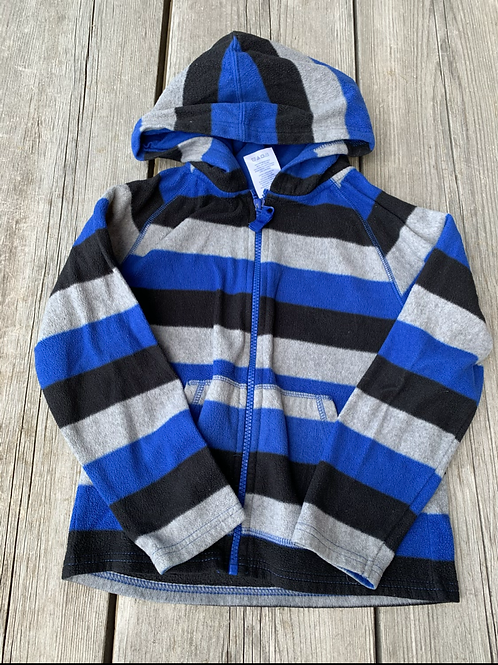 Size 5 Striped Hoodie