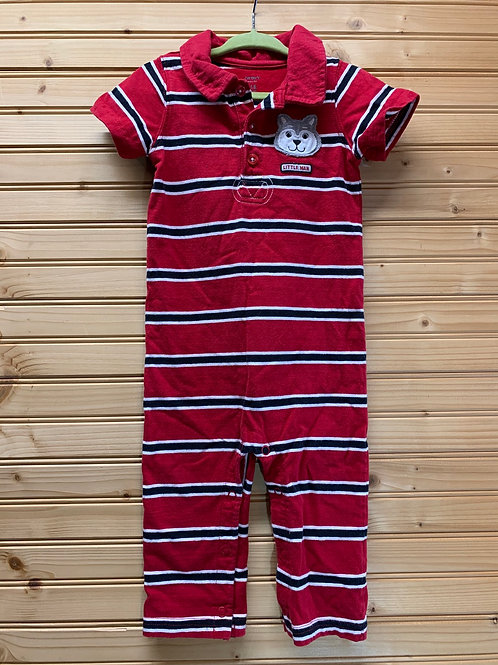 Size 18m Red Stripe Husky Jumper