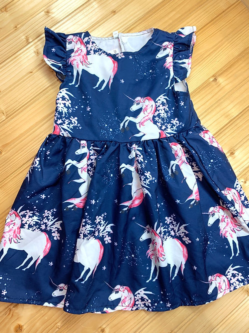 Size 100 (3T) Unicorn Dress