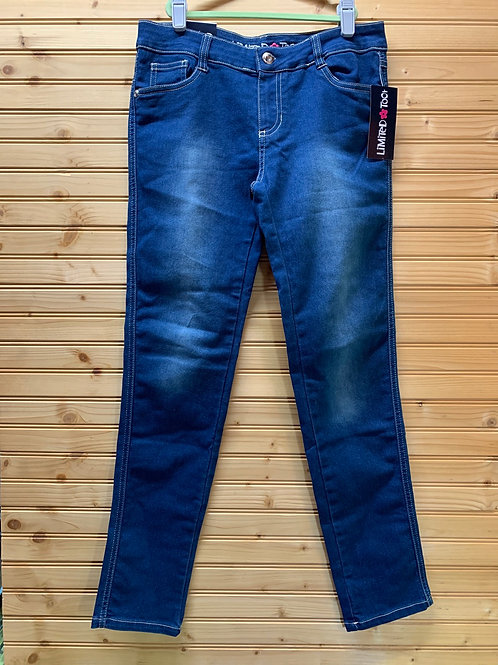 Size 14 Youth LIMITED TOO NWT Jeans, Used