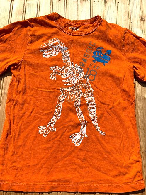 Size 8 Orange T-Rex Tee