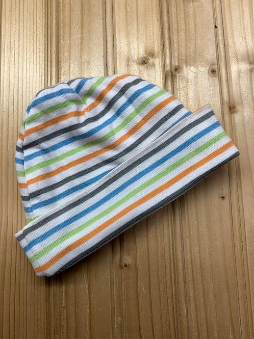 Size 0-6m GERBER Striped Cap