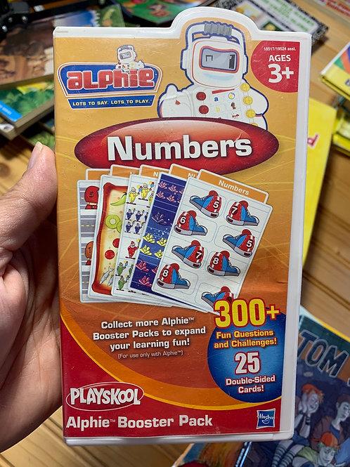 PLAYSKOOL Alphie Numbers Booster Pack
