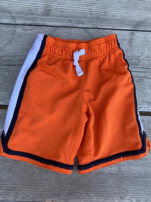 Size 4 CARTER'S Orange Sport Shorts, Used