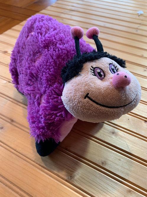 Purple pillow pet closed