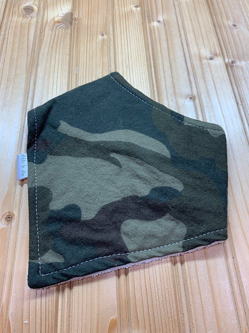 ADDIE & ABE Camo Bandana Teething Bib