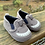 Size 3-6m (1) Infant OLD NAVY Grey Shark Canvas Shoes