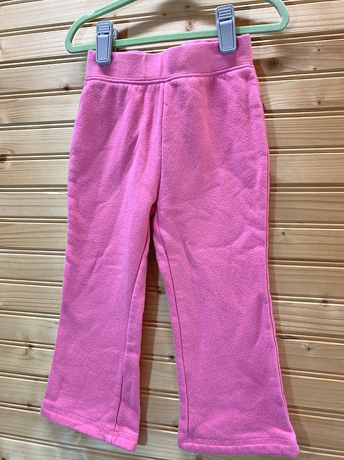 Size 2T JOE BOXER Pink Sweat Pants, Used
