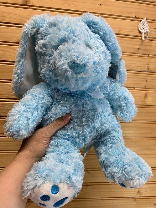 Blue Easter Bunny Stuffed Animal, Used