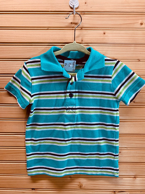 Size 18m Striped Polo, Used