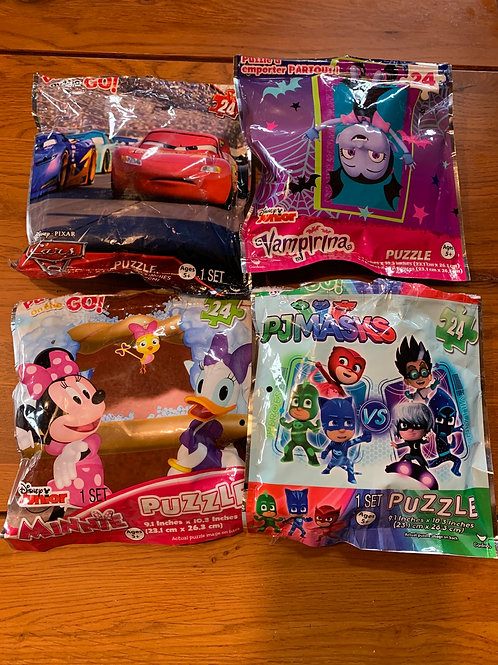 4 Disney Puzzles