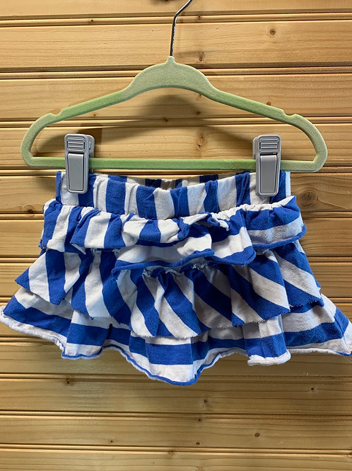 Size 3T CIRCO Blue and White Ruffle Skirt, Used