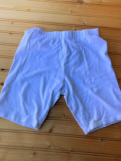 Size 7/8 FADED GLORY White Legging Shorts, Used