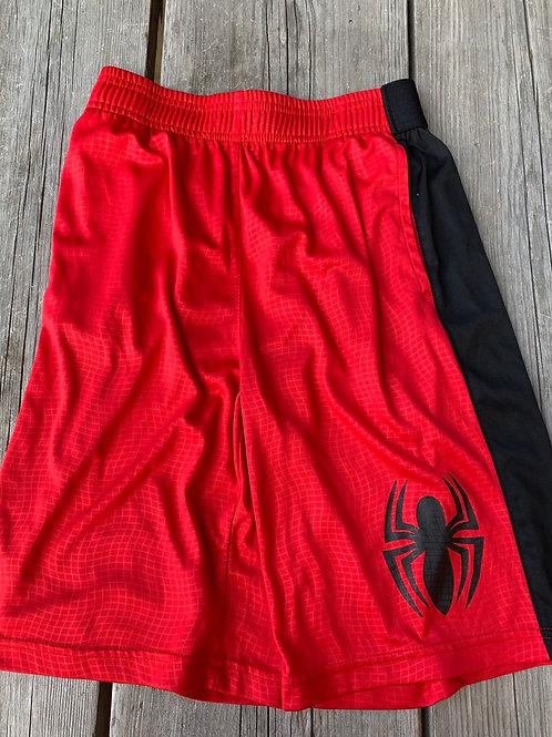Size 10/12 Kids Spider-Man Red Shorts