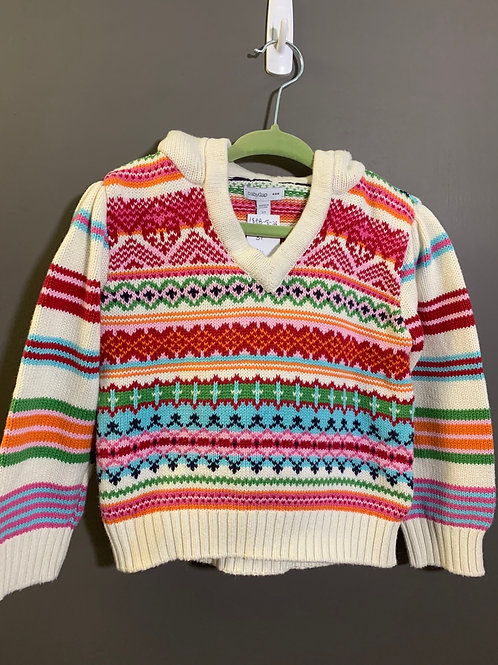 Size 3T BABY GAP Knit Hoodie Sweater