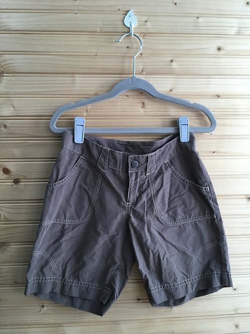 Size 7 Girls COLUMBIA Brown Shorts