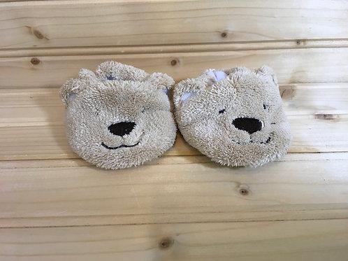 Size Newborn CHILD OF MINE Bear Slippers
