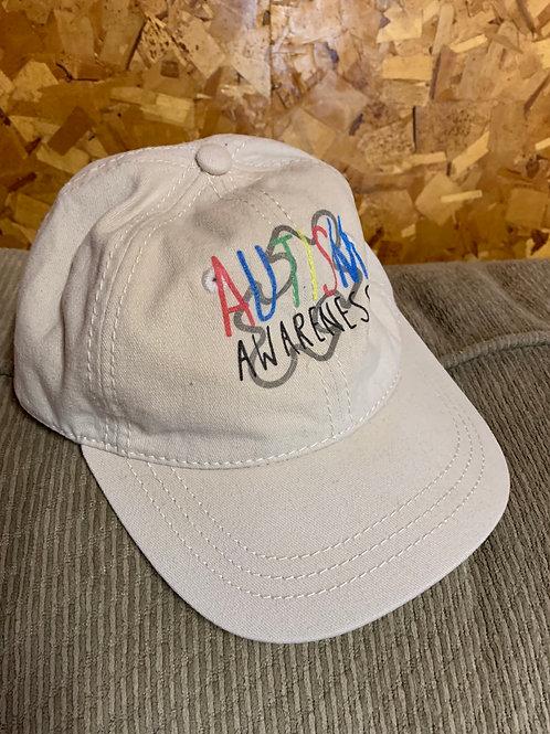 New Adult Size Baseball Hat - Autusm Awareness