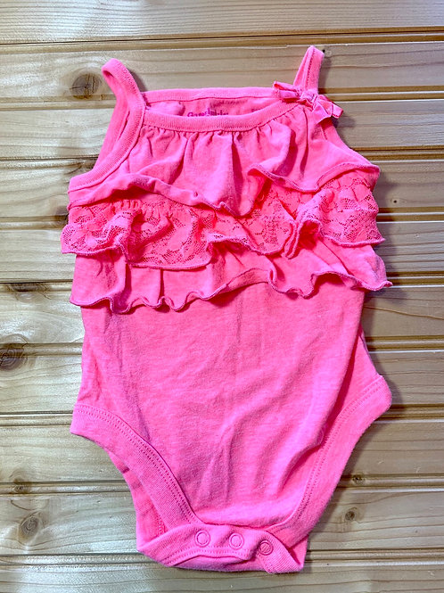 Size 0-3m Pink Summer Onesie