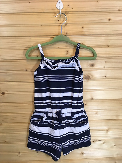 Size 18m CARTER'S Black and White Stripe Jumper
