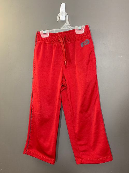Size 4/5 GAP KIDS Red Athletic Pant, Used