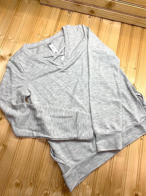 Size 10 REFLEX Grey Top
