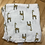 ADEN + ANAIS Giraffe Swaddler Blanket