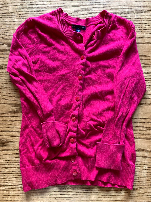 Size XS Girls Hot Pink Cardigan