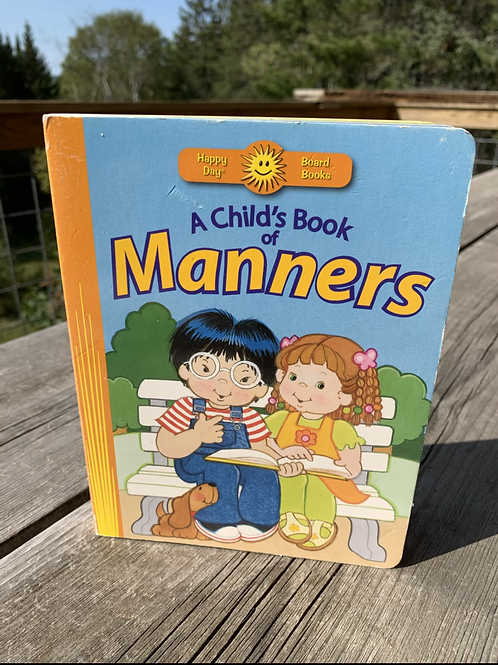 A CHILD'S BOOK OF MANNERS, Used Book