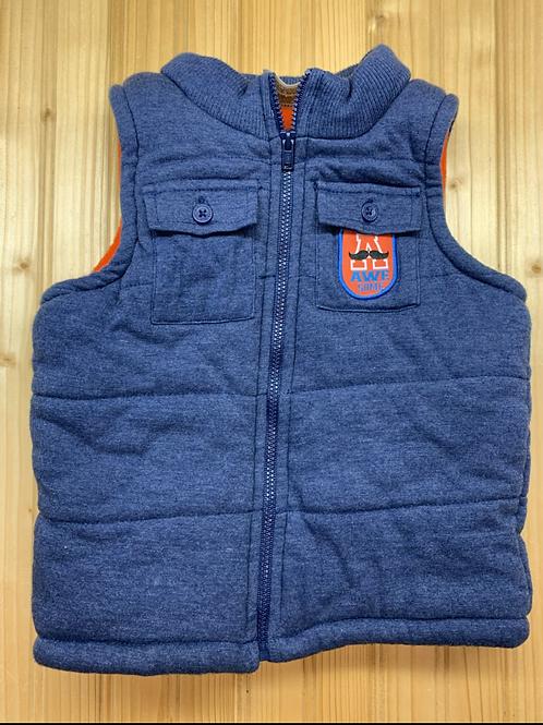 Size 3T CARTER'S Fleece Lined Blue Vest