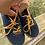 Size 5 Toddler TOMMY HILFIGER Blue Shoes