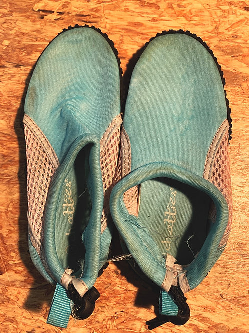 Size 12/13 Blue Water Shoes