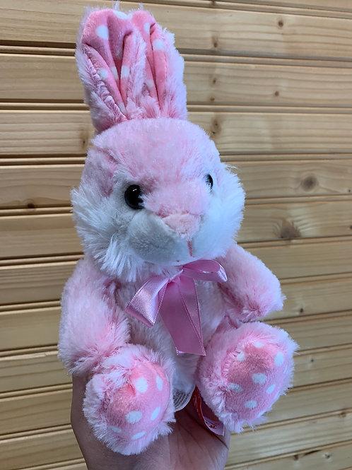 Pink Easter Bunny Stuffed Animal, Used