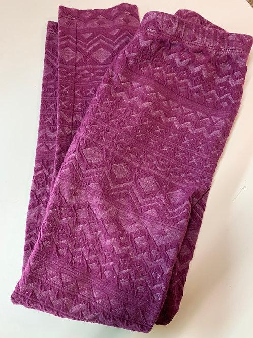 Size 10/12 GYMBOREE Maroon Lacy legging