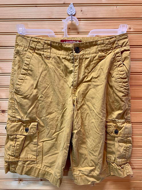 Size 14 Kids ARIZONA Rust Colored Shorts, Used