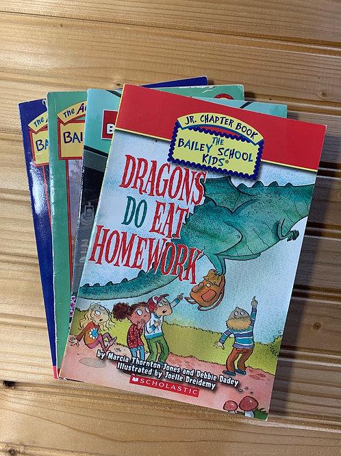 4 BAILEY SCHOOL KIDS Books