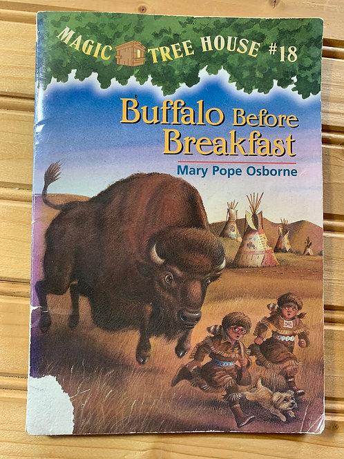 "MAGIC TREE HOUSE Book #18 ""Buffalo Before Breakfast"""
