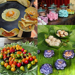 Traditional Thai snacks and deserts. 😋S