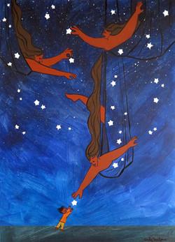 Baño en las estrellas