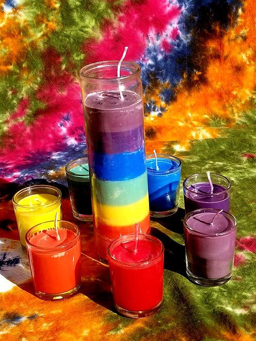 Chakra Healing Candle Set