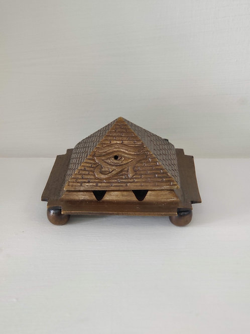 Egyptian Pyramid Cone Burner