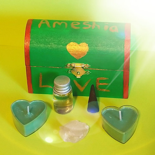 Love Manifestation Box