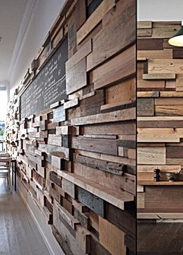 Mixed Width Reclaimed Wood