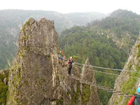 Via ferrata Dragonwall